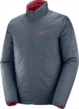 Salomon Drifter Loft Insulated Jacket, L Ebony/Biking Red