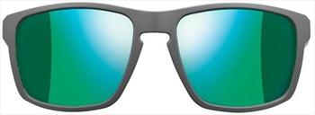 Julbo Shield SP3+ Mountain Sunglasses, Grey/Green