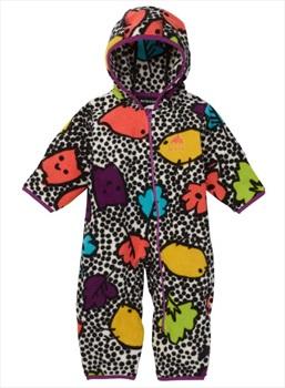 Burton Infant Fleece Onesie, 6-12M Hoos There