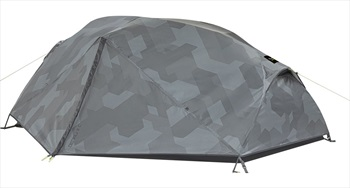 Salewa Denali 3 Camo Backpacking Tent + Footprint, 3 Man Grey Camo