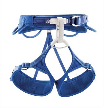 Petzl Adjama Men's/Unisex Climbing Harness, XL, Blue