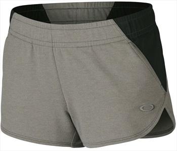Oakley Womens Advantage Sportswear Shorts, XS Athletic Heather Grey