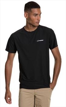Berghaus 24/7 Tech Short Sleeve T-Shirt, M Black/Black