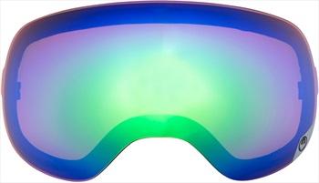 Dragon X2s Snowboard/Ski Goggle Spare Lens Green Ionized