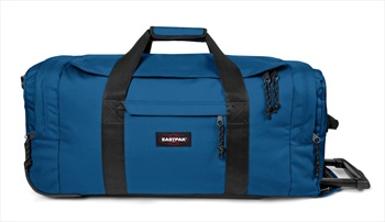 Eastpak Leatherface M Wheeled Duffel Bag, 61L Urban Blue