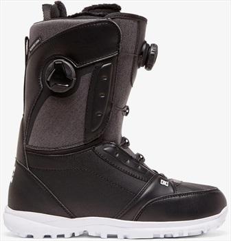 DC Lotus Women's Dual BOA Snowboard Boots, UK 6.5 Black 2020
