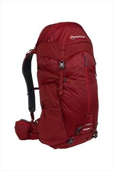 Montane Adult Unisex Halogen Mountain Climbing Backpack, 45L Redwood
