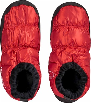 Nordisk Mos Down Shoes Insulated Camping Slippers, UK 8-9.5 Red