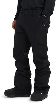 Burton Cargo Relaxed Fit Snowboard/Ski Pants, L True Black
