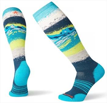 Smartwool PhD Snowboard Medium Women's Snowboard Socks, L Deep Marlin