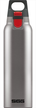 Sigg Hot & Cold One Insulated Thermos Flask, 500ml Brushed