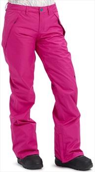 Burton Dunton Women's Ski/Snowboard Pants, S Fuchsia 2020