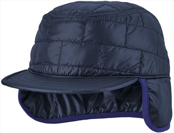 Patagonia Nano Puff Earflap Cap Insulated Winter Hat, S/M Classic Navy