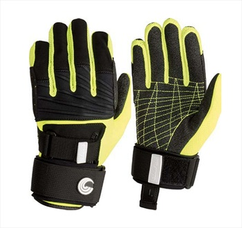 Connelly Claw 3.0 Waterski Wakeboard Gloves, X Large Black Yellow 2019