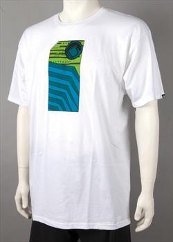 Liquid Force Tech Deck T Shirt, Small, White