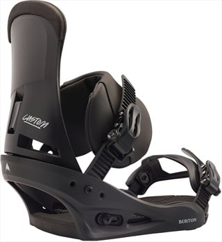 Burton Custom Re:Flex Snowboard Bindings, Medium Black 2020