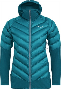 Salewa Agner Hybrid Down Women's Insulated Jacket, UK 14 Ocean