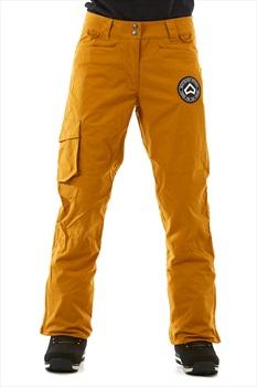 Westbeach Devotion Women's Ski/Snowboard Pants, XS Brown Sugar