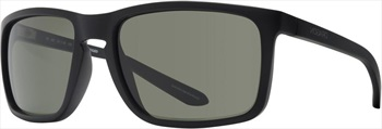 Dragon Melee G15 Green Lens Sunglasses, Matt Black