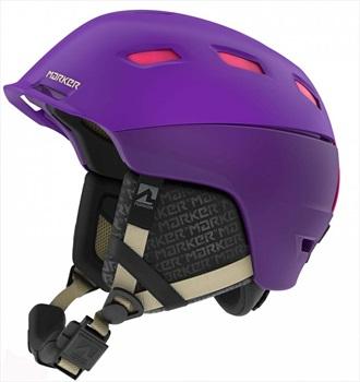Marker Womens Ampire Women's Ski/Snowboard Helmet, M Purple