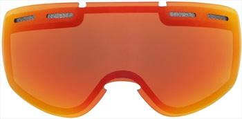 Sontimer Eclipse Ski/Snowboard Goggles Spare Lens, One Size, Lava