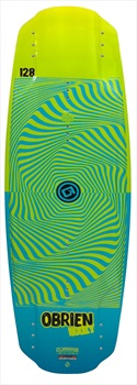 O'Brien Hooky Kids Boat or Cable Wakeboard, 110 Green Blue 2020