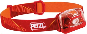 Petzl Tikkina Compact IPX4 Headtorch, 250 Lumens Red