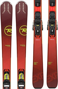 Rossignol Experience 80 Ci Xpress 11 Skis, 166cm Red/Yellow 2020