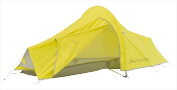 Macpac Sololight V2 Ultralight Backpacking Tent, 1 Person Yellow