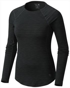 Mountain Hardwear Womens Mighty Stripe M, Stealth Grey