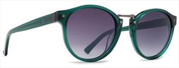 Von Zipper Stax Grey Gradient Lens Sunglasses, Translucent Emerald