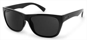 Zeal Carson Sunglasses Black Gloss Dark Grey