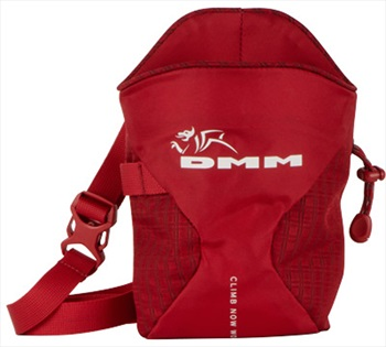 DMM Traction Rock Climbing Chalk Bag, Red