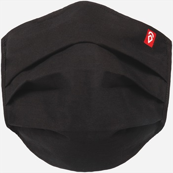 Airhole Basic 5 Pack Protective Reusable Face Mask, Black