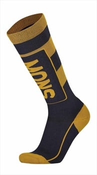 Mons Royale Mons Tech Cushion Men's Ski/Snowboard Socks L 9 Iron/Gold