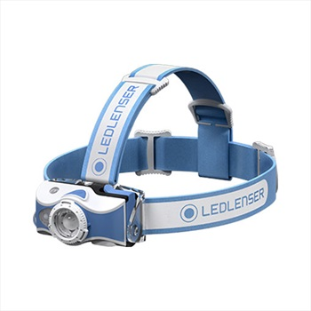 Led Lenser MH7 Headlamp IPX54 Rechargeable Led Head Torch, Blue