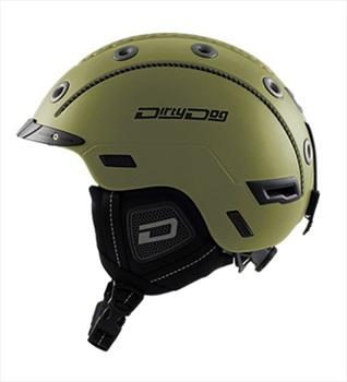 Dirty Dog Saturn Ski/Snowboard Helmet, S Matte Dark Khaki