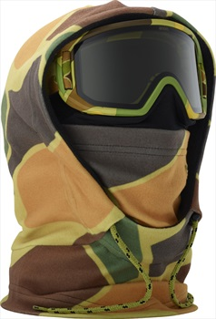 Anon Hooded Clava Anon MFI Only Kid's MFI Facemask, Kamo Green
