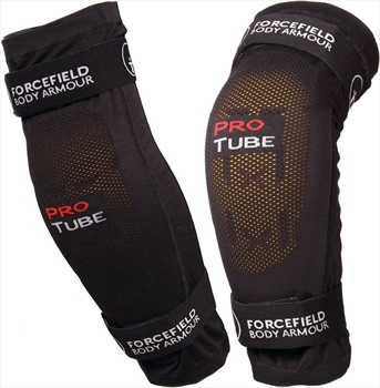 Forcefield Pro Tube X-V 2 Knee & Elbow Protection Pads, M Black