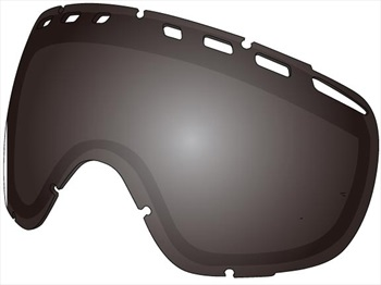 Dragon D3 Snowboard/Ski Goggles Spare Lens, One Size, Jet Ionized