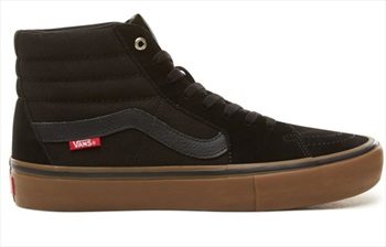 Vans Sk8-Hi Pro Skate Shoes, UK 12 Black/Gum