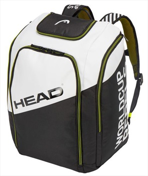 Head Rebels Racing Backpack Boot Bag, Small White/Black