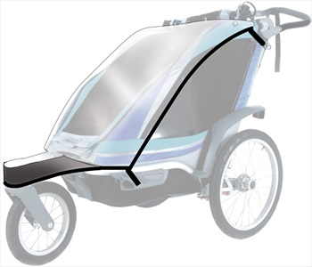 Thule Rain Cover Child Carrier Accessory Chinook 2