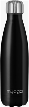 Myga Stainless Steel Water Bottle, 500ml Black