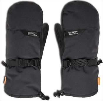 thirtytwo Chinook Leather Ski/Snowboard Mitts, S/M Black
