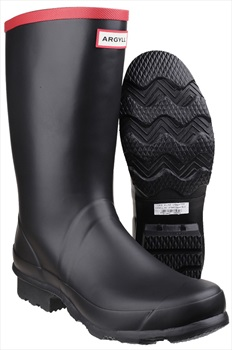 Hunter Adult Unisex Argyll Short Knee Wellington Boot, UK 8 Black