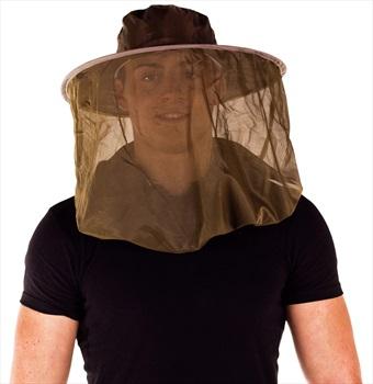 Pyramid Pop-Up Hat & Head Net Midge & Mosquito Proof Hat, OS Black