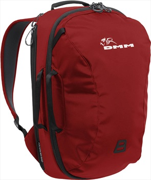 DMM Short Haul Rock Climbing/Travel Bag, 30L Red