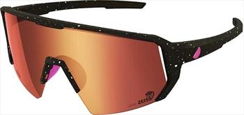 Melon Adult Unisex Alleycat Red Chrome Performace Sunglasses, M/L Paint Splat/Pink
