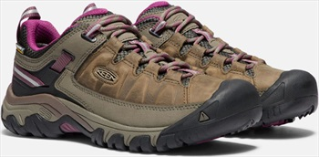 Keen Targhee III WP Women's Walking Shoes, UK 4 Weiss/Boysenberry